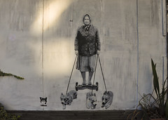 DSC_9197 (rob dunalewicz) Tags: 2016 unitedkingdom uk london dulwich streetart mural graffiti tags catman