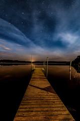 Starlights (Mika Tuomela) Tags: stars starlights nikon night nightsky nightime d7100 pier sea bay moonlight nature scenery tokina