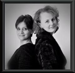 Kelly en Tina (Marcel Berbers) Tags: kellyentina kelly tina mbmkf