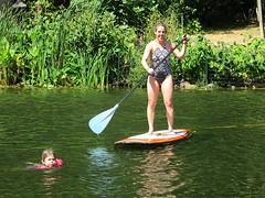 Sara on Paddle Board (procktheboat) Tags: paddleboard lakethoreau restonvirginia restonva