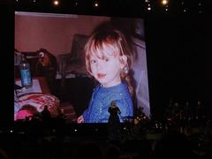 DSC04969 (thekrisharris) Tags: adele adkins nashville bridgestone arena tennessee tn british woman singer microphone stage tour live 2016 concert music song guitar band confetti dress rain fans artist