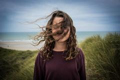 Wind girl (JSEBOUVI : 2 millions views !) Tags: aot2016 jsebouvi letouquet nikon photo hair foto cheveux visage wind beach plage praia eyes sky ciel