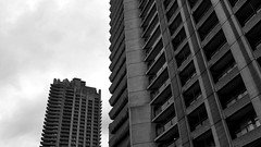 Barbican walking tour. (Paul de Gregorio) Tags: wurz barbican london architecture brutalistarchitecture brutalism leica