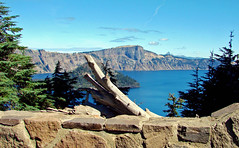 Crater Lake National Park, OR 813 (inkknife_2000 (7 million views +)) Tags: craterlakenationalpark oregon volcano craters usa northamericanationalparks mtmazama forests mountains peaks dgrahamphoto deadwood wizardisland mtthielsen water rockwall alpine