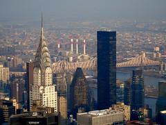 New York skyline (MarkRussell3112) Tags: usa america skyline manhatten chrysler scyscraper newyork rooseveltisland
