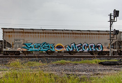(o texano) Tags: houston texas graffiti trains freights bench benching mecro sexes cdc