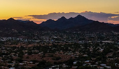 Good Morning Phoenix from North Mountain (Brian Just Got Back From...) Tags: phoenixaz phoenix arizona hiking