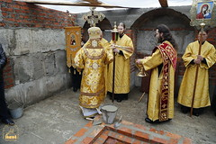 116. The Laying of the Foundation Stone of the Church of Saints Cyril and Methodius / Закладка храма святых Мефодия и Кирилла 09.10.2016