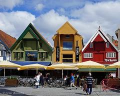 Colorful Stavanger ( Annieta ) Tags: annieta juli 2016 sony a6000 holiday vakantie vacances noorwegen norway norvge stavanger haven stad city allrightsreserved usingthispicturewithoutpermissionisillegal