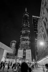 One world trade center de nuit (regis.muno) Tags: newyork manhattan nikond7000 usa oneworldtradecenter nb bw nuit night