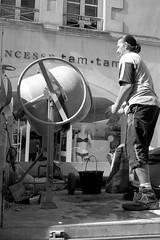 Once More Round #263 (ammgramm) Tags: naturallight bw blackwhite black white fujifilmx100s larochelle france