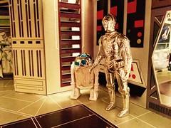 Artoo And Threepio (Tracheotomy Bob) Tags: star wars palitoy death toys artoo detoo r2d2 see threepio c3po