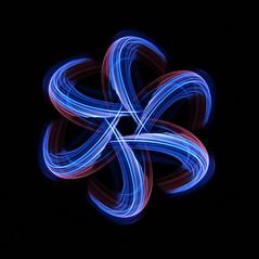 (C Searle) Tags: light painting lightpainting sooc long exposure longexposure blue crt camera rotation tool canon 70d