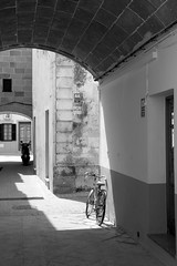 Menorca (2006) (francisco.amer) Tags: city village bw bycicle street relax menorca island spain igersmenorca instagram 500px menorcaphoto menorcaisland canon photooftheday instagood itsnicethat thinkcreateexplore awesomepix