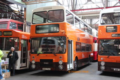 Preserved GMT 3065 (B65 PJA) (SelmerOrSelnec) Tags: preserved gmt leyland olympian northerncounties b65pja manchester cheetham museumoftransport bigorange bus
