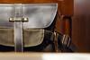 愛用 (Yuri Yorozuna / 萬名 游鯏(ヨロズナ)) Tags: 鞄 カバン bag purse リュック rucksack sack リュックサック カラビナ carabiner 茶色 brown color 色 индустар2250mmf35 インダスター22