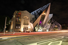 Toronto ROM (scienceduck) Tags: scienceduck night tdot ontario canada toronto rom royalontariomuseum museum bloor bloorstreet wideangle