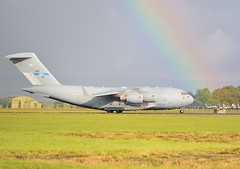 01 F-207SAC-1 CN 50208 NATO C17 Raf Leeming oct 2016 ........ (judgeimages) Tags: the strategic airlift capability sac concept originated nato hq mid2006 officials national representatives envisaged partnered solution that would satisfy need for member states without economic resources field permanent originally this idea was called nsac in october 2006 first nonnato nation joined initiative changed its name moved outside alliance