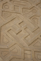 Swastik (Ali Shojaee) Tags: isfahan iran iranian art architecture arch dome tile stucco brick mehrab