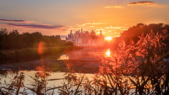 Sunset Chambord (billon.sebastien) Tags: rouge sunset chambord loire valley autumn