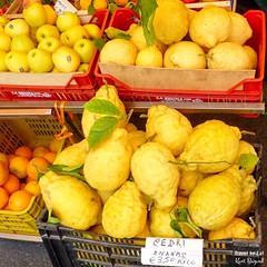 Cedro (Cedri) Citrus Fruit. Star Fruita Positano, Italy (Travel to Eat) Tags: amalfi amalficoast italy cedro cedri citrus huge starfruitapositano positano