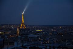 memory from Paris (maj-lis photo) Tags: paris eiffel tower france europe night nikon