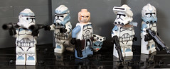 Wolfpack (CloneArmyCustoms) Tags: trooper lego arc wars custom clone commander wolfpack wolffe