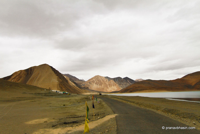 Mountains Around Pangong Lake, Ladakh