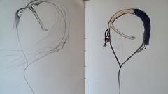 sketch (gueda Couto (aka Yuma)) Tags: moleskine azul paper mar sketch balo pic cu terra ns vo hidrocor