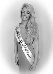 Rose of Tralee - Rachael B&W (BubsyBarr) Tags: rachael beauty photography blackwhite beautyqueen roseoftralee bubsybarr