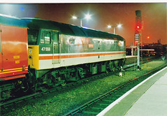 47558 Mayflower  CD (marcus.45111) Tags: night 1991 postal derby duff named mayflower mainline midlandmainline class47 23791 ukbuilt 47558 classictraction