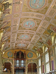The Chapel, Royal Holloway (AprilLady) Tags: wedding london chapel ceiling organ royalholloway organist