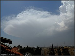 - cumulonimbus (moshek70) Tags: weather clouds israel jerusalem   cumulonimbus     redseatrough