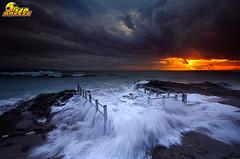 seseh beach (bali island) (tut bol) Tags: sunset beach water high nikon tide filter lee splash seseh d700
