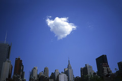 pouf (davebias) Tags: nyc blue cloud film skyline levelandtap