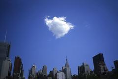 pouf (davebias) Tags: nyc blue cloud film skyline levelandtap