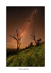 Dream Catch Me (EmeraldImaging) Tags: sunset stars nsw southcoast milkyway garie notastartrail