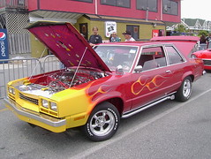 1978 Mercury Zephyr (splattergraphics) Tags: mercury flames zephyr 1978 carshow oceancitymd customcar cruisinoceancity