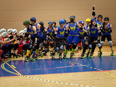 """Stockholm BSTRDs vs. Dock City Rollers-2 • <a style=""""font-size:0.8em;"""" href=""""http://www.flickr.com/photos/60822537@N07/8996354696/"""" target=""""_blank"""">View on Flickr</a>"""