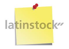 Ilustrao - Postit (latinstock) Tags: brasil postit ilustrao vetor recado produo lembrete bancodeimagens latinstock