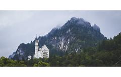 The castle (Andrs Brito) Tags: castle schloss neuschwanstein cinderella cenicienta disney castillo bosque montaa berge mountain mountains niebla nebel mist