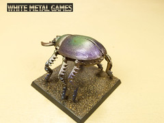 Giant Scarab Beetle (whitemetalgames.com) Tags: reaper giant beetle large scarab pewter skeleton skeletal giants wmg white metal games raleigh nc commission painter painted painting service services ncraleighnorthcarolinacommissionservice