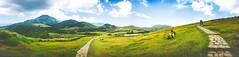 Cingtiangang Grassland, Taipei, Taiwan. (Evo-PlayLoud) Tags: appleiphone6plus appleiphone6 iphone6plus iphone6 appleiphone 6plus 6 mobilesnapshot snapshot snapshots landscape scenery grass grassland panorama panoramas cingtiangang  taipei taiwan yangmingshan mtyangming               mountain mountains