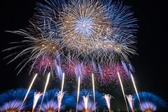 Gorgeous Summer Night (peaceful-jp-scenery) Tags: fireworks display summer festival kanaya oigawa          sony 99 a99 slta99v amount sal1635z variosonnart1635mmf28zassm carlzeiss