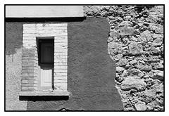 finestra bw (AndtorG) Tags: window wood wall muro ombra shadow morning geometria frame stone pietre daylight giorno blackandwhite bw