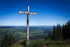 Views (Banalfred) Tags: mountain cross allgu immenstadt immenstdterhorn hiking nature summit berg kreuz gipfel outdoor landschaft