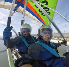 Beach bound! (floridaadventuresports) Tags: florida girlpower women sports hanggliding skydiving paraglising extreme flying outdoor activities
