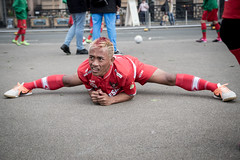Homeless World Cup 2016, George Square, Glasgow, Scotland - 13 July 2016 (Homeless World Cup Official) Tags: hwc2016 homelessworldcup aballcanchangetheworld thisgameisreal streetsoccer glasgow soccer indonesia stretch scotland