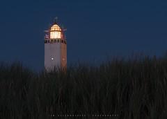 Lights (Tim Allendrfer) Tags: lights night sea leuchtturm noordwijk holland beach lighthouse sand dunes grass wind summer