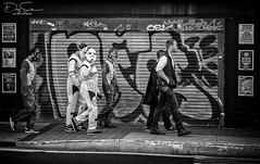 may the force be with you (Daz Smith) Tags: dazsmith canon6d bw blackwhite blackandwhite bath city streetphotography people candid canon portrait citylife thecity urban streets uk monochrome blancoynegro mono graffiti art starwars costume stormtroopers rebels